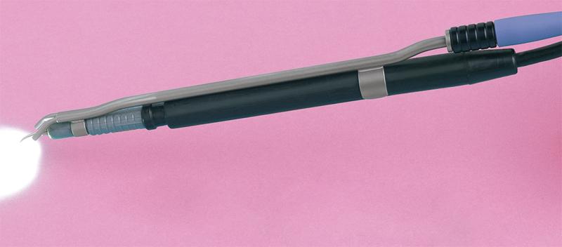 Fiber optic Cavitron clip