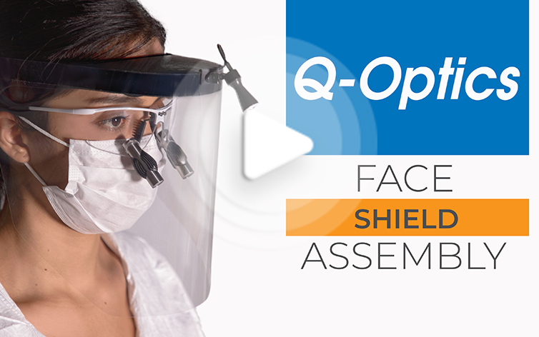 Q-Optics Face Shield